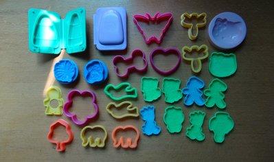 [C.M.平價精品館]現貨出清特價/hello kitty、蜻蜓、大象、冰棒等漂亮好玩粘土模型