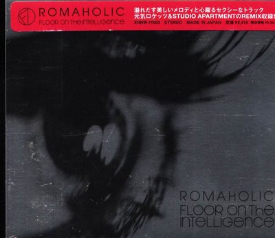K - Floor on the Intelligence - Romaholic - 日版 CD+2BONUS NEW