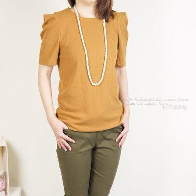 韓國連線 超顯瘦長版上衣 ~桔子瑪琪朵