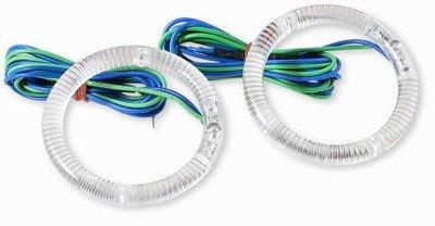 RILI~S-機車改裝配件~LED藍光光圈-頭燈用-59mm
