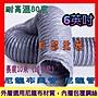 「工廠直營」6英吋 尼龍布管 尼龍布伸縮風管 尼龍管 抽風管 排風管 油煙管 抽煙管 尼龍布風管 排油煙管