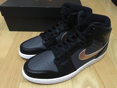 Nike Air Jordan 1 Retro High奧運AJ1黑金牌BRONZE MEDAL球鞋332550-016