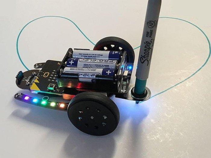 micro bit Bit Bot自走車專用筆架 Pen Holder for Bit:bot Classic