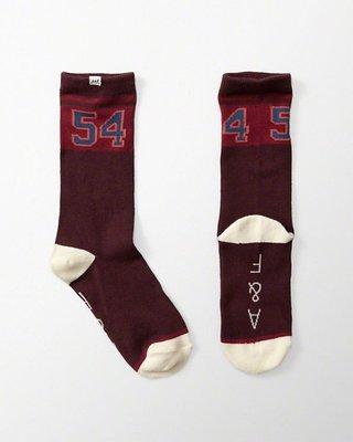 Maple麋鹿小舖 Abercrombie&Fitch * AF 數字款中筒襪1雙入一組 *( 現貨 )