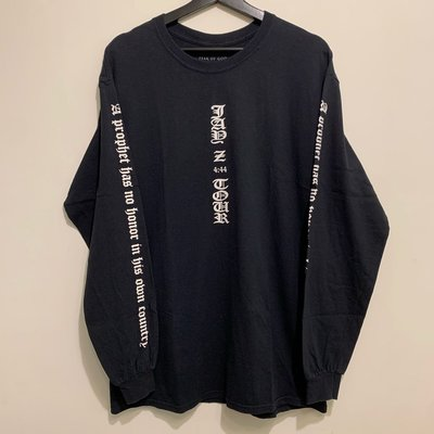 現貨L號 FEAR OF GOD X JAY-Z 4:44 MERCHANDISE