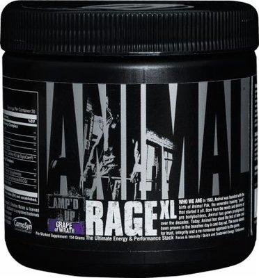 【Supp Hauz】Universal Animal Rage XL 濃縮 Universal  運動前泵 30份
