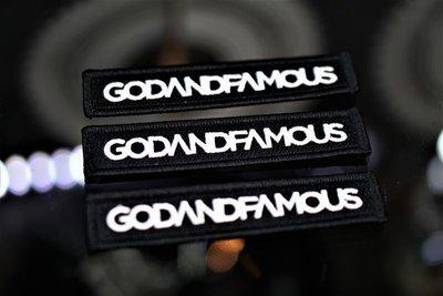 『FAITH GEAR』 godandfamous BADGE 布章 / 單速車 FIXED GEAR 單車 / 布章