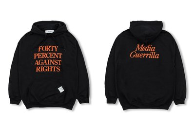 (A.B.E)FORTY PERCENT AGAINST RIGHTS AW19 PG-13 HOODED 02