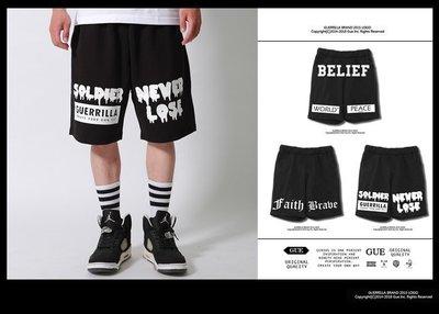GUE -N103-N105- 暗黑系棉質短褲 - 三款