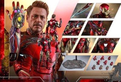 Hottoys iron man mk 85 battle damaged version bd  訂單一張