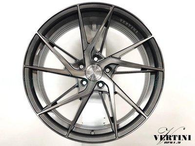 全新鋁圈 VERTINI RFS1.9 19吋 旋壓鋁圈  5孔112 5孔120 5孔114.3 灰底灰透 輕量化
