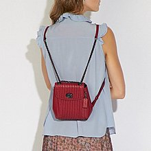 COACH parker convertible backpack 16 with quilting