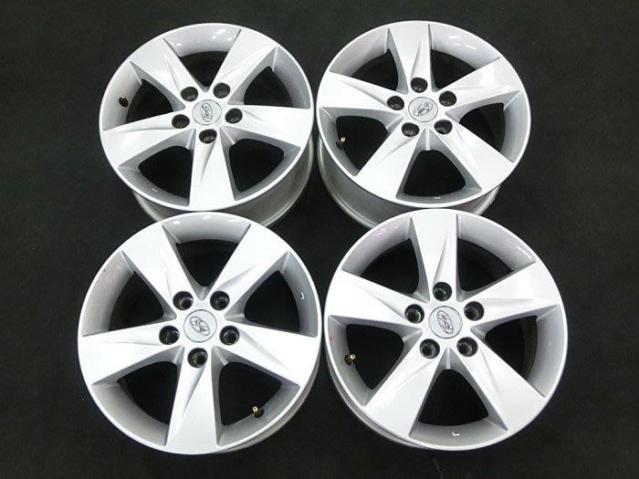正廠 現代 汽車 ELANTRA 原廠鋁圈 極新 16吋鋁圈 5孔114 完工價 1800 TUCSON HYUNDAI