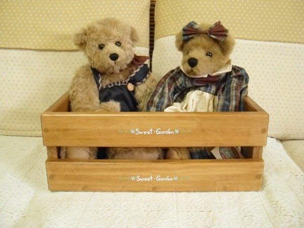 松木 實木  收納盒 置物盒**樂在幸福**木作坊~A102~松木置物盒~淺胡桃木