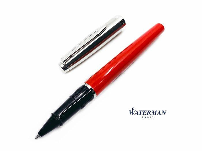 =小品雅集=法國 Waterman Emblème 巴黎魅影系列 鋼珠筆(紅色)