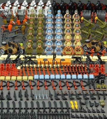 兼容樂高八佰積木軍事人仔八路軍國軍日本小鬼子模型男孩拼裝玩具