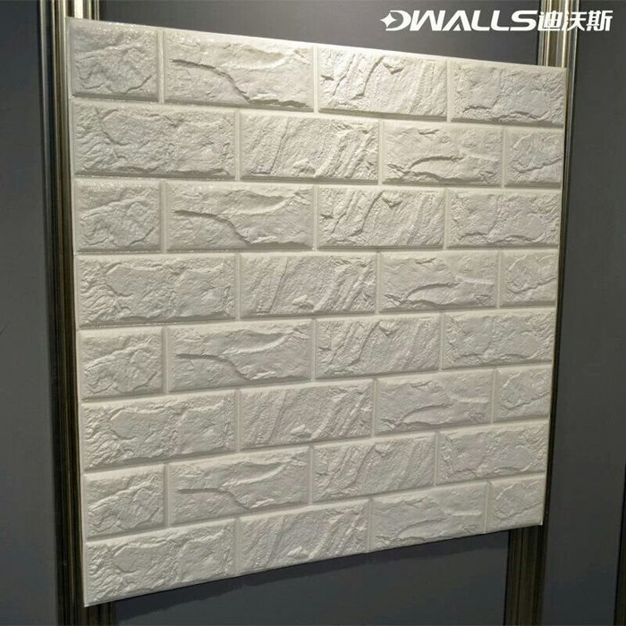 【P】3D立體牆紙防撞隔音磚紋牆壁壁紙(60x60cm)