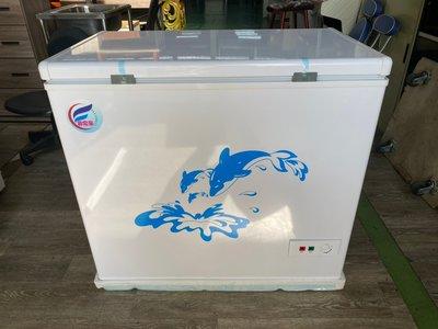 吉田二手傢俱❤全新3尺210L臥式冷凍冰箱冷凍櫃 臥式冰櫃 上掀式冰箱 上掀式冷凍櫃 2尺 2.7尺