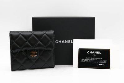 【青蘋果】Chanel 香奈兒 經典羊...