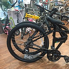 小哲居 DAHON Espresso D24 黑色 24速大摺疊車 26吋輪組 最便宜大折 龍頭可快拆轉向