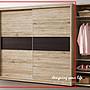 【設計私生活】歐康納7尺白橡木推門衣櫃(全...