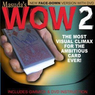 【意凡魔術小舖】WOW 2.0版(WOW二代)(道具+原版原文教學DVD)撲克牌魔術