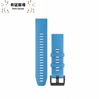 歡迎光臨♥《免運+含稅》GARMIN QUICKFIT 青藍色矽膠錶帶 22mm《原廠公司貨》