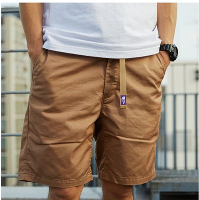 THE NORTH FACE 紫標 Stretch Twill Shorts 短褲 nt4102n。太陽選物社