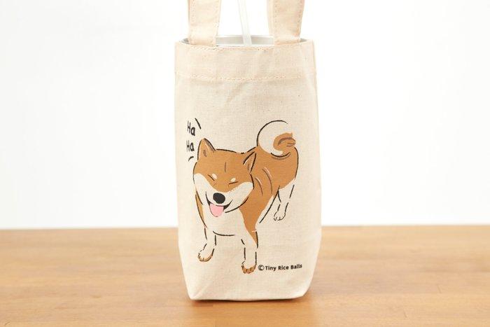 小飯糰 柴柴環保杯袋 小飯糰 柴柴環保杯袋 笑笑柴