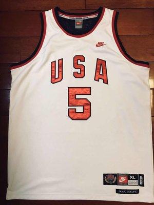 正品球衣~道格柯林斯美國男籃1972慕尼黑奧運會 AU球員版球衣復刻美版正品