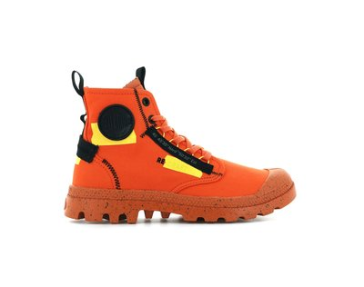 【RTG】PALLADIUM PAMPA HI RE-CRAFT 木星橘 靴型 帆布 貼布感 男女 77220-651