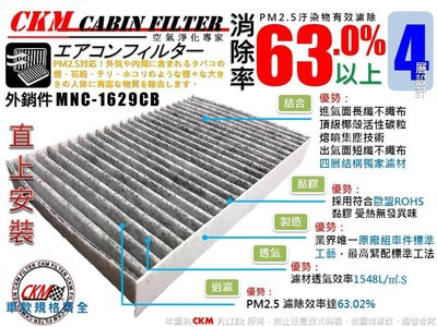 【CKM】NISSAN SUPER SENTRA 13年後 原廠 正廠 型 活性碳 活性碳冷氣濾網 空氣濾網 空調 粉塵