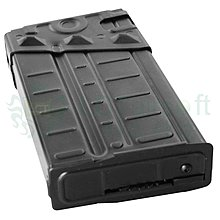 Funny GUNLCT 適用LCT LC-3系列 AEG 500連發金屬條紋彈匣 黑色-ZLCT-LC011