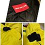 WHY &1/2 亮黃賽跑車手拉鍊外套 (二手)- 9號