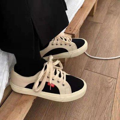 SeyeS 萬年百搭潮流自然風oldschool復古拚色滑板鞋/運動鞋