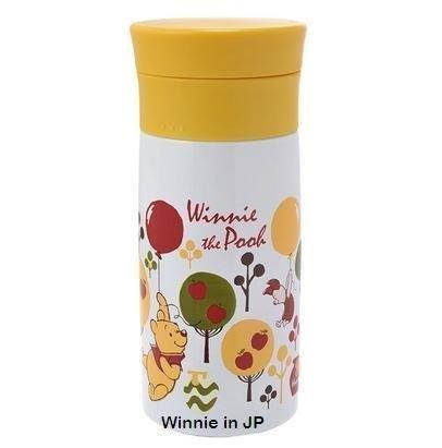現貨不必等 迪士尼 小熊維尼 蘋果樹 不鏽鋼 保溫瓶 保溫杯 水瓶 250ml 49363131867909 C