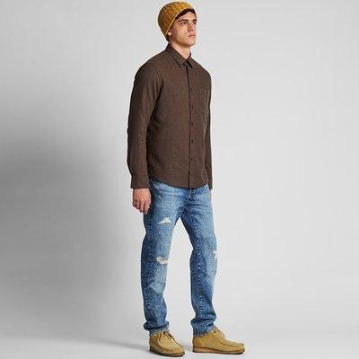 Evan`s 『 品味生活 』~Uniqlo 法蘭絨 SLIM FIT 純棉襯衫 刷毛 保暖 貴族風 S號