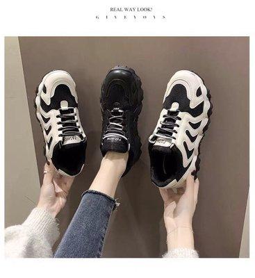 老爹鞋 鋸齒鞋 波浪鞋 女鞋 增高鞋 歐美 時尚 日韓 潮流 戶外 休閒 旅行 運動