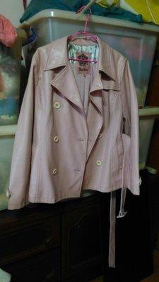 【甜心寶貝】Ardor 粉色二手小羊皮個性冬季外套隨便賣最後一降/1250