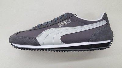 灰面白標黑底 ※台北快貨※全新Puma WHIRLWIND Classic經典潮鞋,非SuperStar ROMA OG