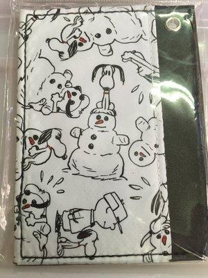 Snoopy 史努比狗狗 票卡夾 正日版 Peanuts Charlie Brown 查理布朗 證件套 台北市