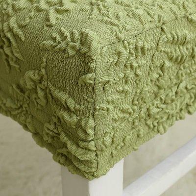百年合和 純色樹藤彈力簡約連體辦公椅餐椅椅套辦公椅罩可定制