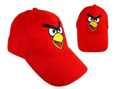 【卡漫迷】 憤怒鳥 帽子 大臉 紅鳥 青少年 成人 遮陽 網球帽 棒球帽 Angry birds 遮陽帽