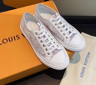 oodStyle 歐美新款 LV logo stellar休閒運動鞋 優質選擇~特