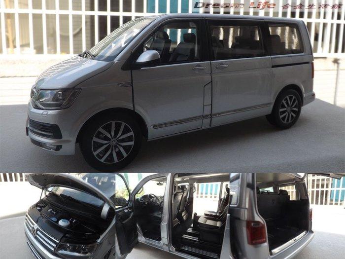 【原廠精品】1/18 NZG 原廠大眾 VW T6 Multivan 邁特威商務車MPV ~全新品銀色~預購特惠價~!!