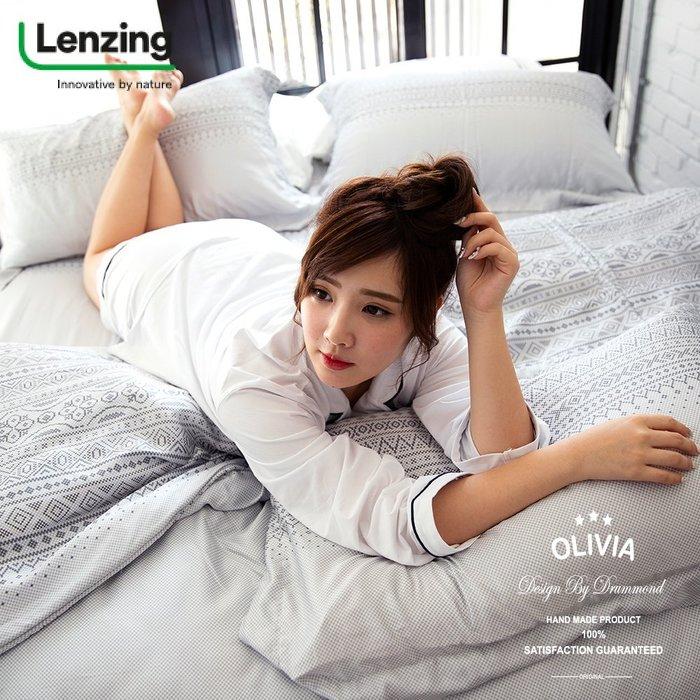 【OLIVIA 】DR1009 Melissa 標準雙人冬夏兩用被套 【單品】 300織 天絲™萊賽爾 台灣製