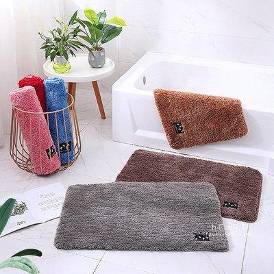 【可愛村】浴室長毛超吸水地墊 40x60cm 踩踏墊 長版地墊