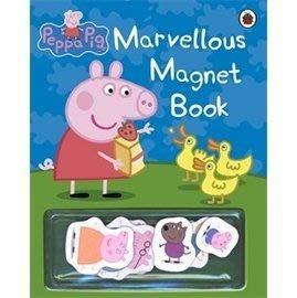 *小P書樂園*  [ Peppa pig 粉紅豬小妹。趣味磁鐵書 ] MARVELLOUS MAGNET BOOK #限量