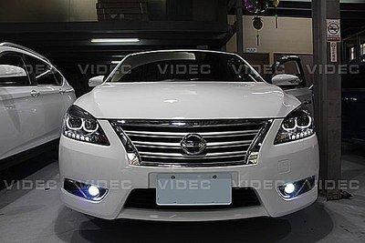 巨城汽車 裕隆 NISSAN 13-17 1SUPER SENTRA B17 專用 霧燈 魚眼 搭配 HID 效果100