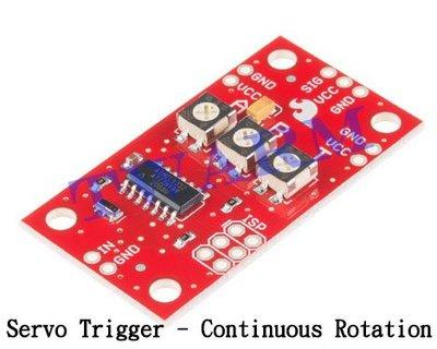 《德源科技》r) SparkFun 原廠 Servo Trigger - Continuous Rotation